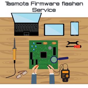 Tasmota Firmware flashen Service